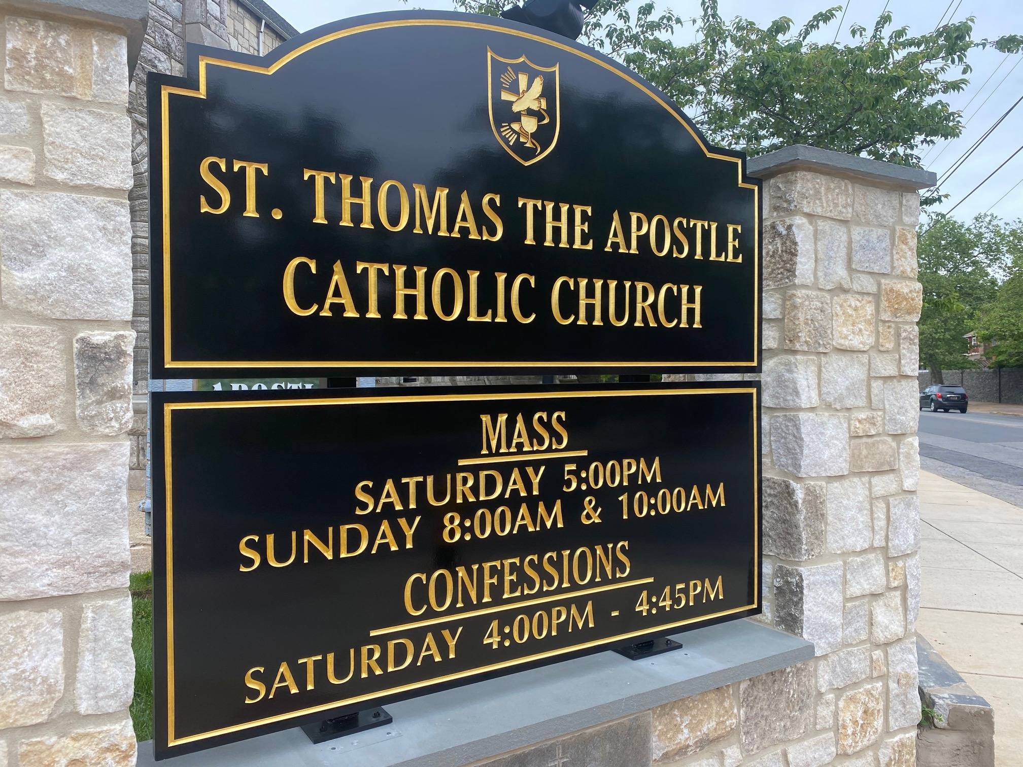 New Church Sign Has Been Installed